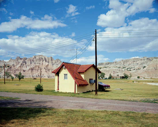 Badlands National Monument, South Dakota, July 14, 1973