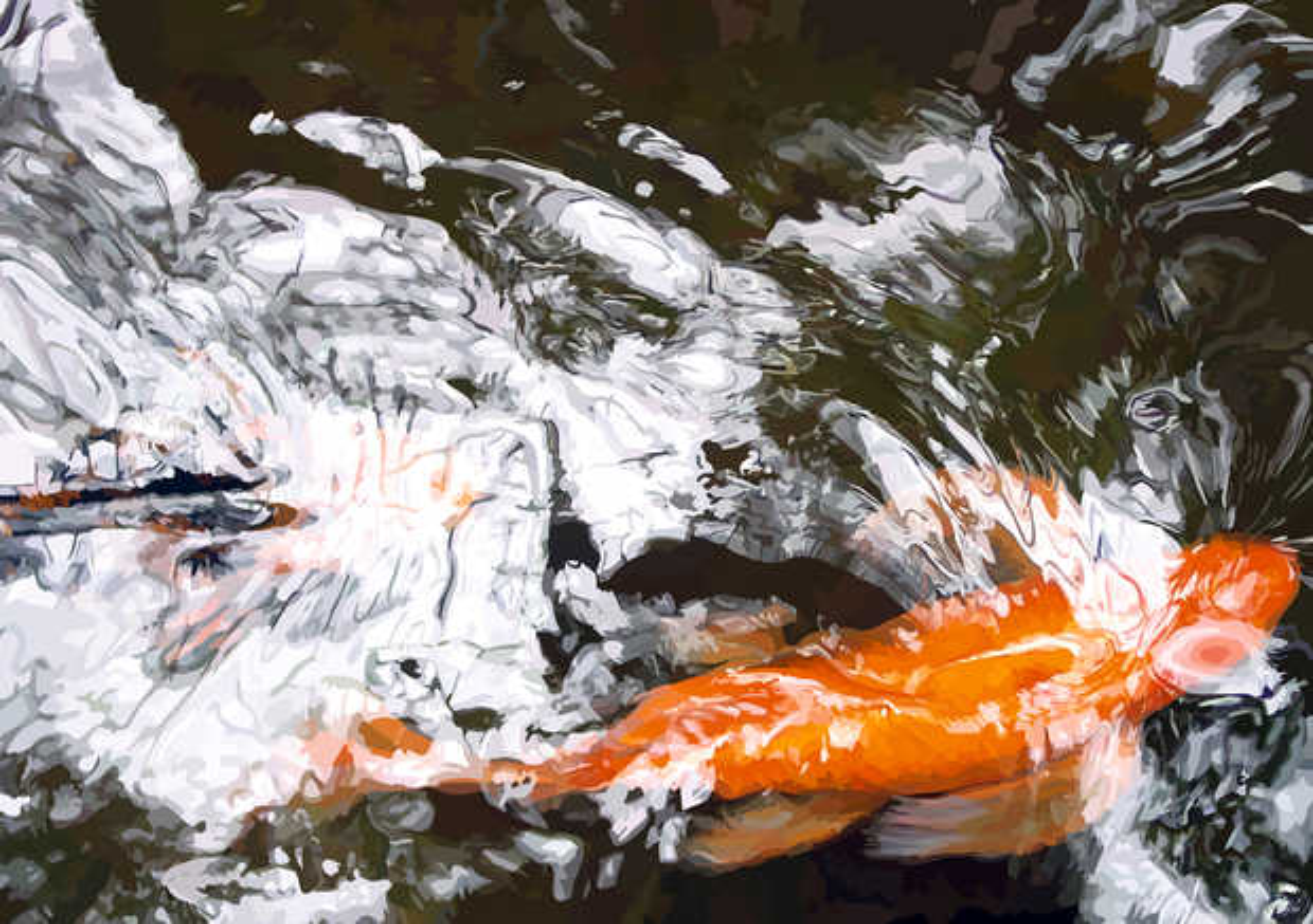 Goldfisch I - Susanne Wehr