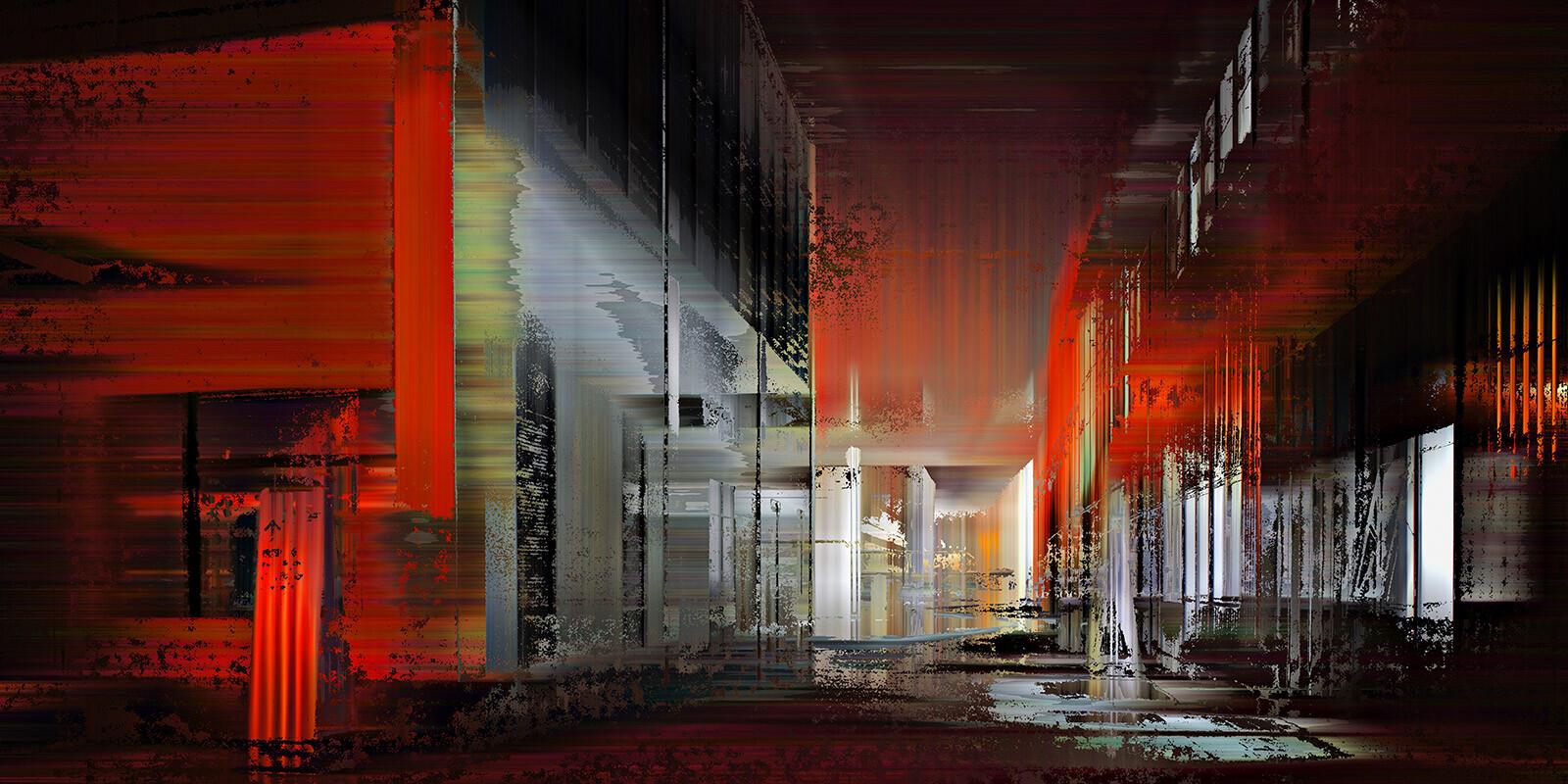 Shanghai Projections VII - Sabine Wild