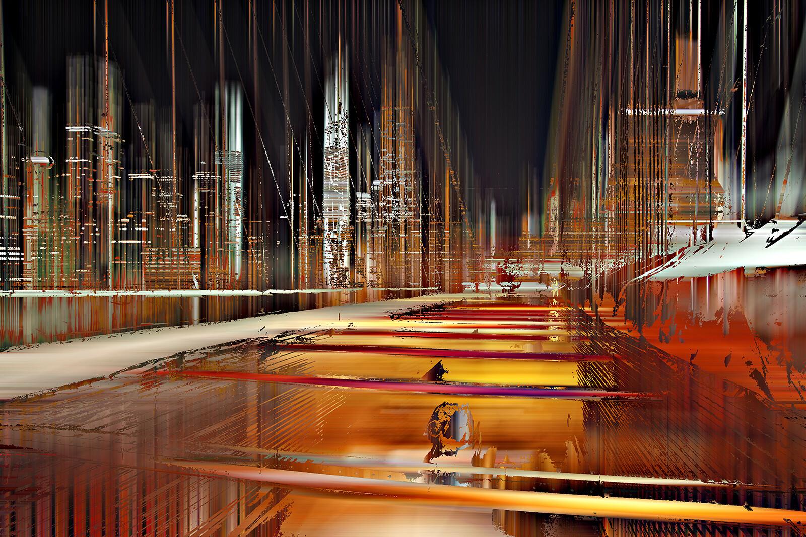 NY Projection LVI - Sabine Wild
