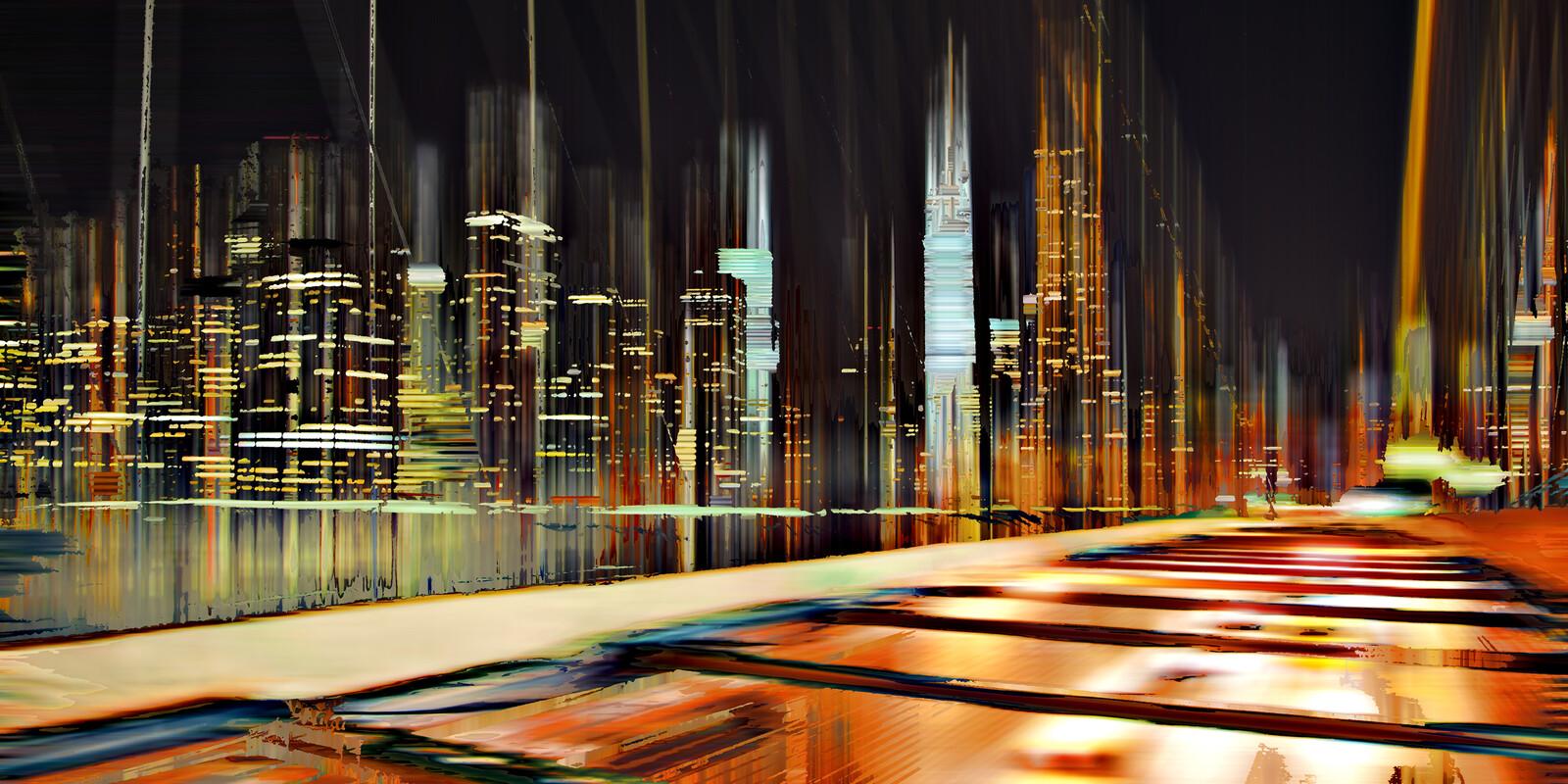 NY Projection LVII - Sabine Wild