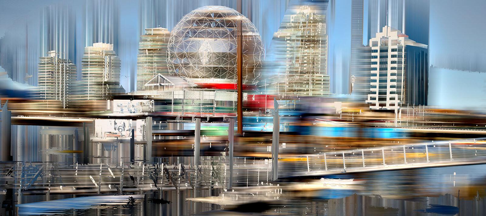 Vancouver Projection II - Sabine Wild