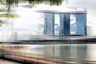 Singapore Projection II by Sabine Wild