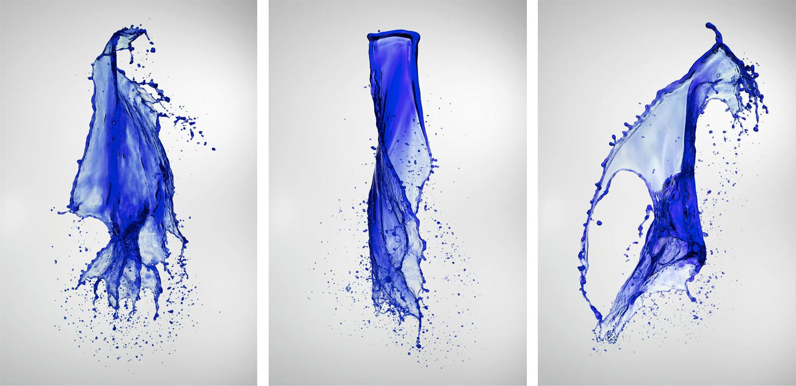 Liquid universe/fall - Thanh-khoa Tran