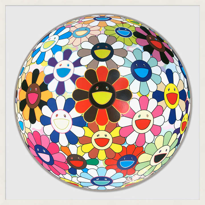 Flower Ball (Lots of Colors)