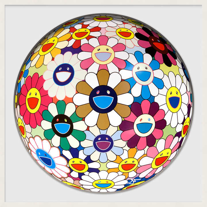 Flower Ball (Autumn) by Takashi Murakami