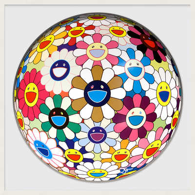Flower Ball (Autumn) von Takashi Murakami