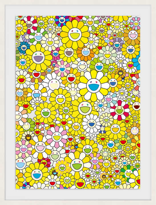 An Homage to Monogold 1960 D by Takashi Murakami