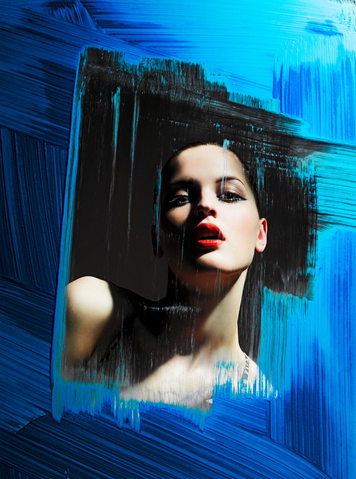 Blue Window - Alexander Straulino   Trunk Archive
