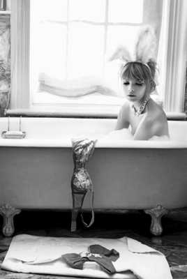 Bunny in Tub by Pamela Hanson | Trunk Archive