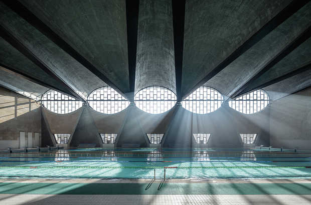Swimming Pool of Tianjin University I - Terrence Zhang