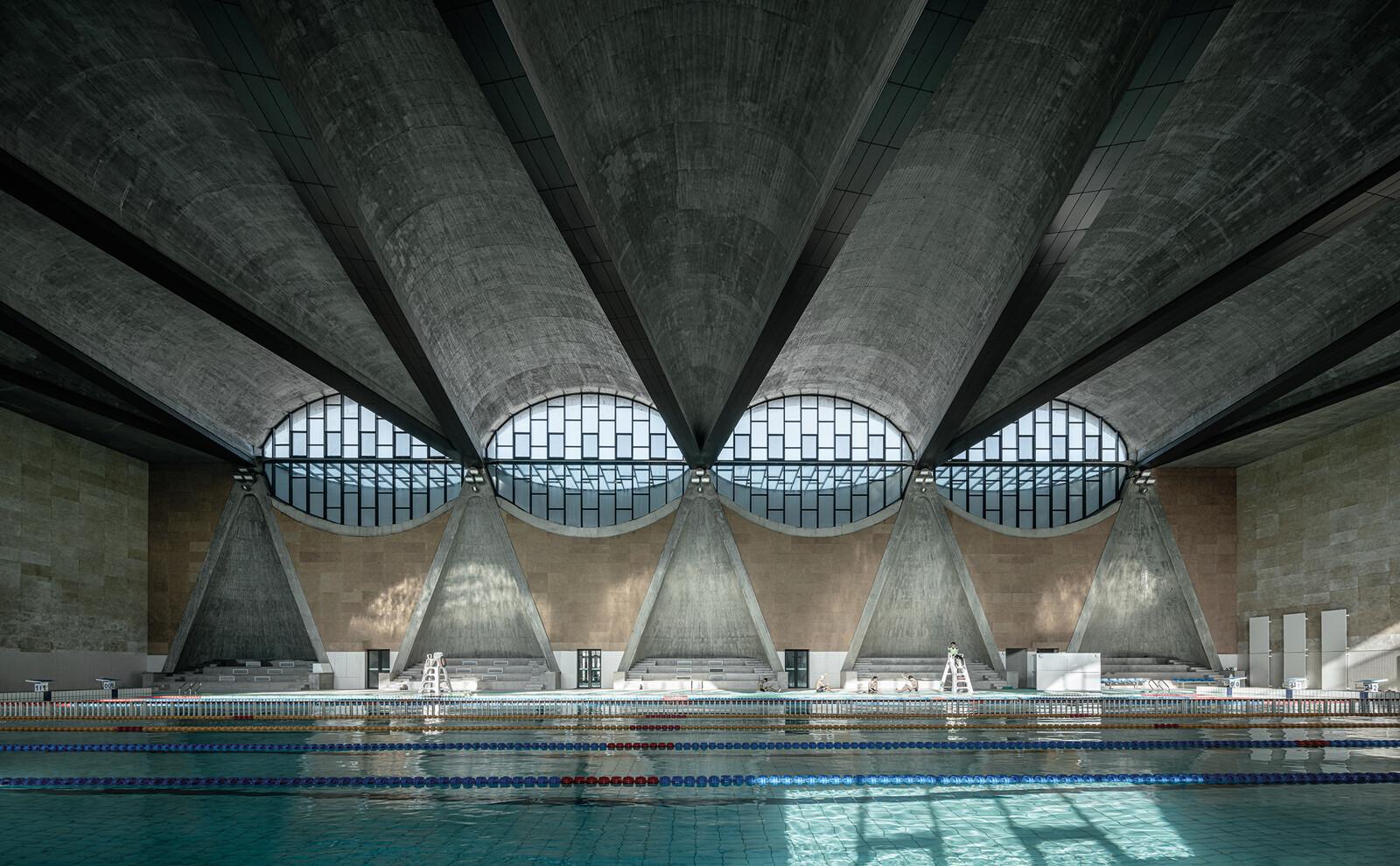 Swimming Pool of Tianjin University II - Terrence Zhang