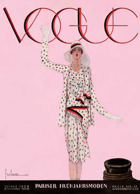 Cover, Georges Lepape IV von German Vogue Collection