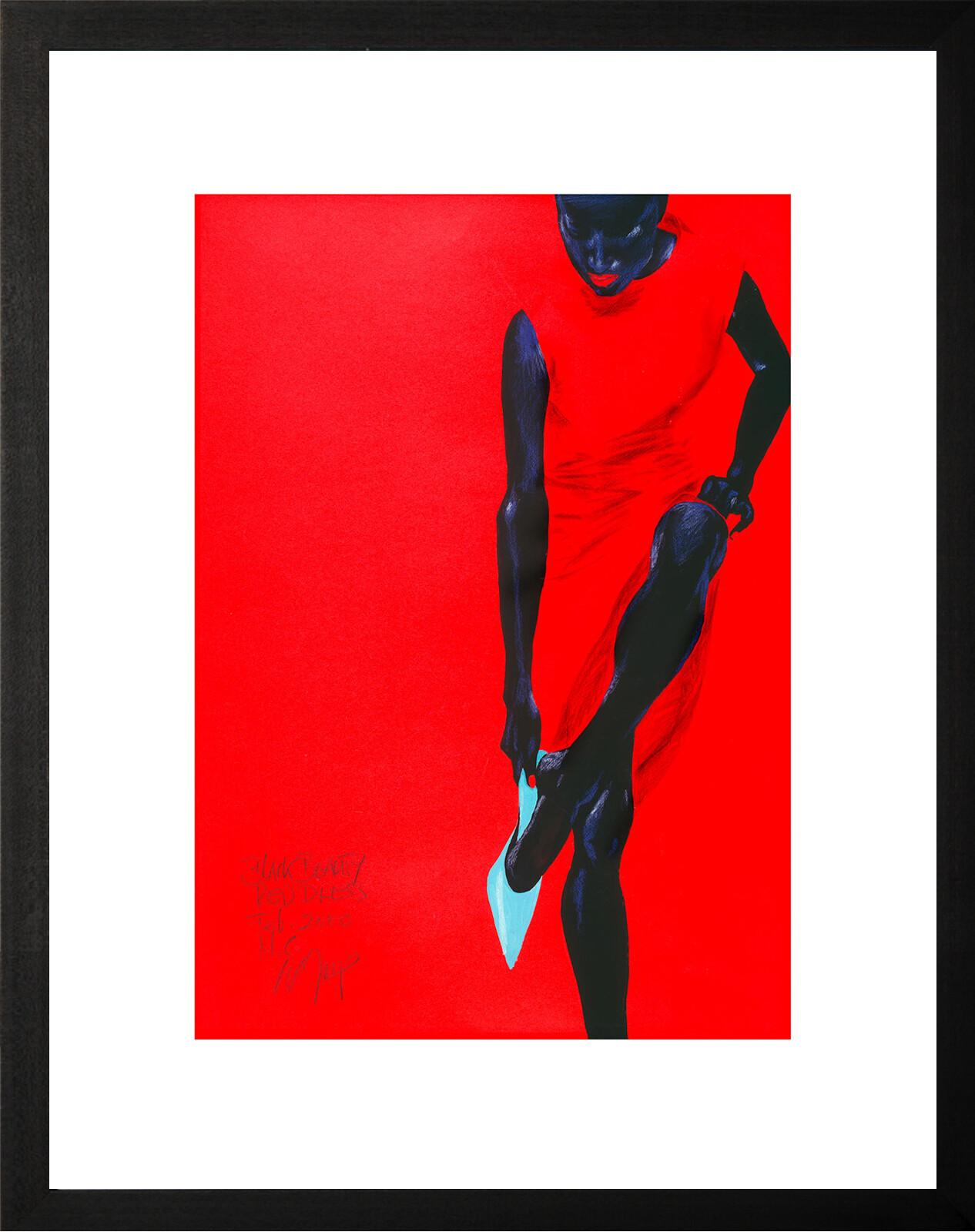 Black Beauty - Red Dress - Wolfgang Joop