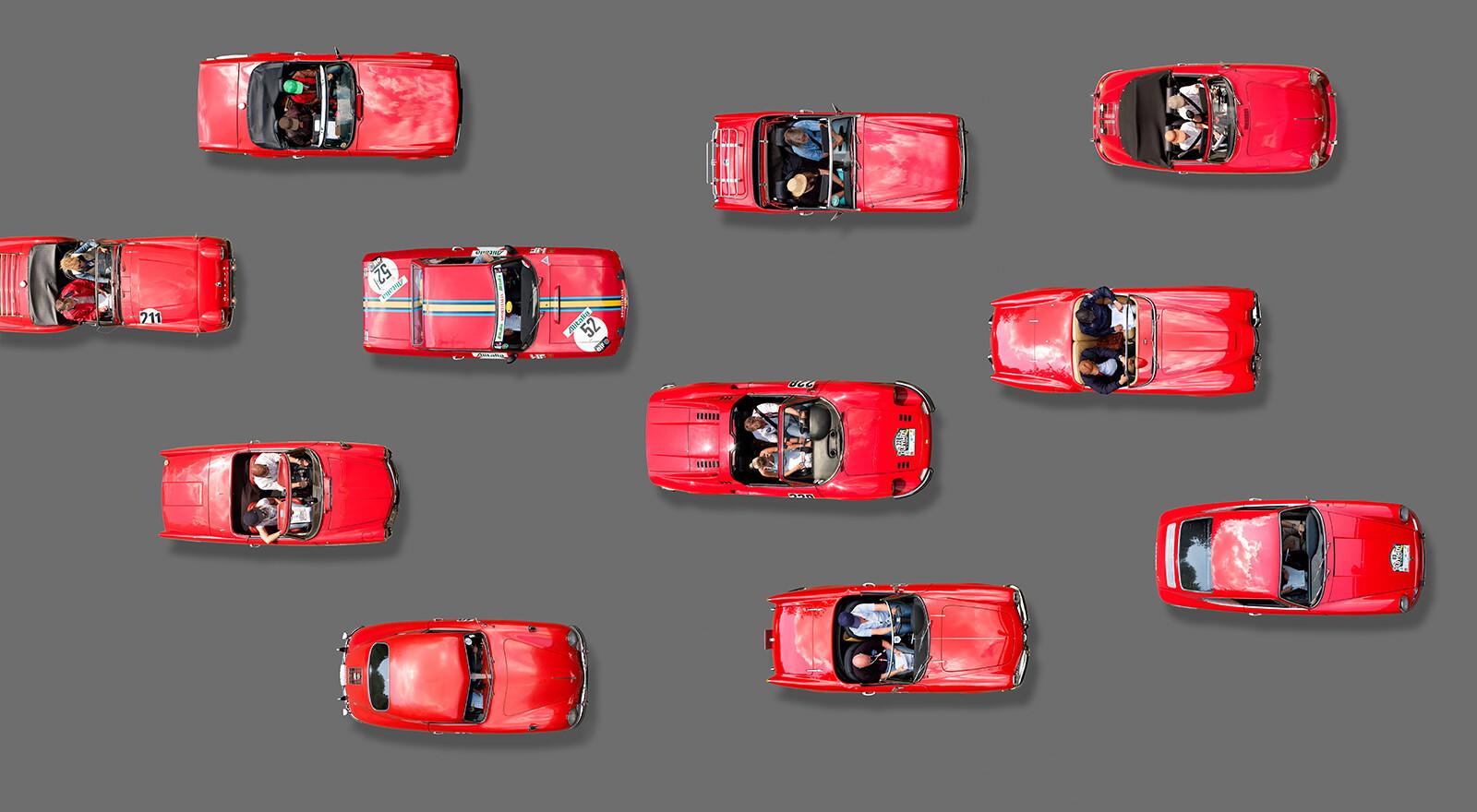 Red Cars - Bernhard Schmerl