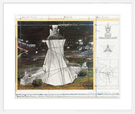 Wrapped Fountain - Christo
