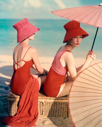 Red Parasol - Louise Dahl - Wolfe