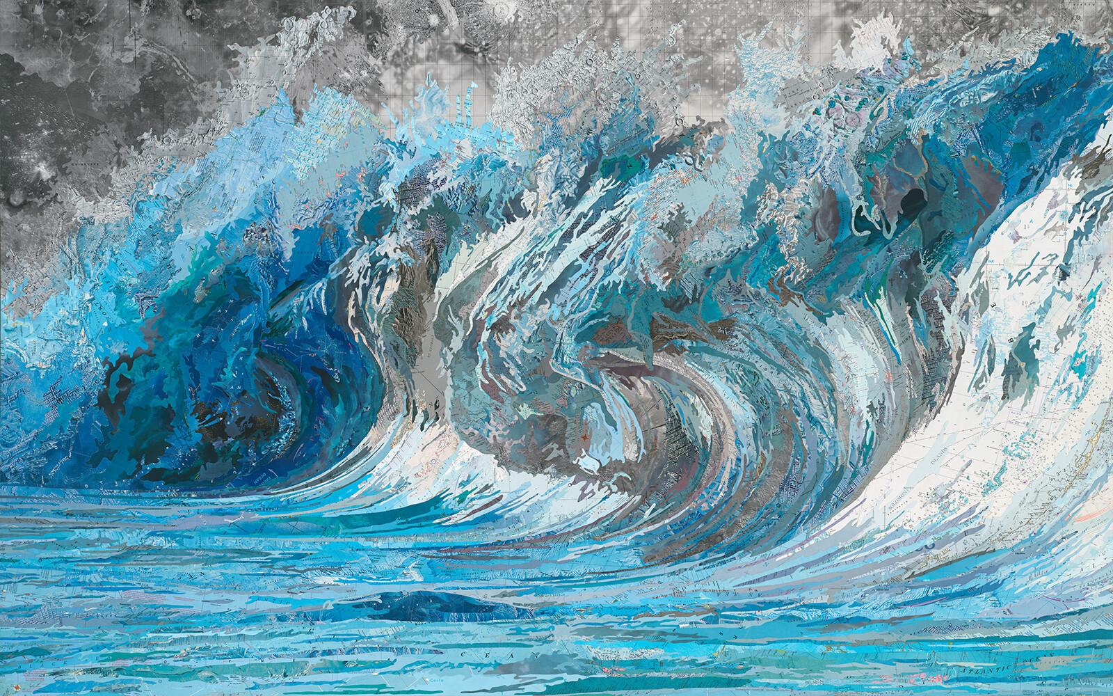 Genevieve's Wave - Matthew Cusick