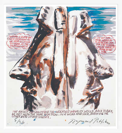 Ohne Titel (Nature is Dumb) - Raymond Pettibon
