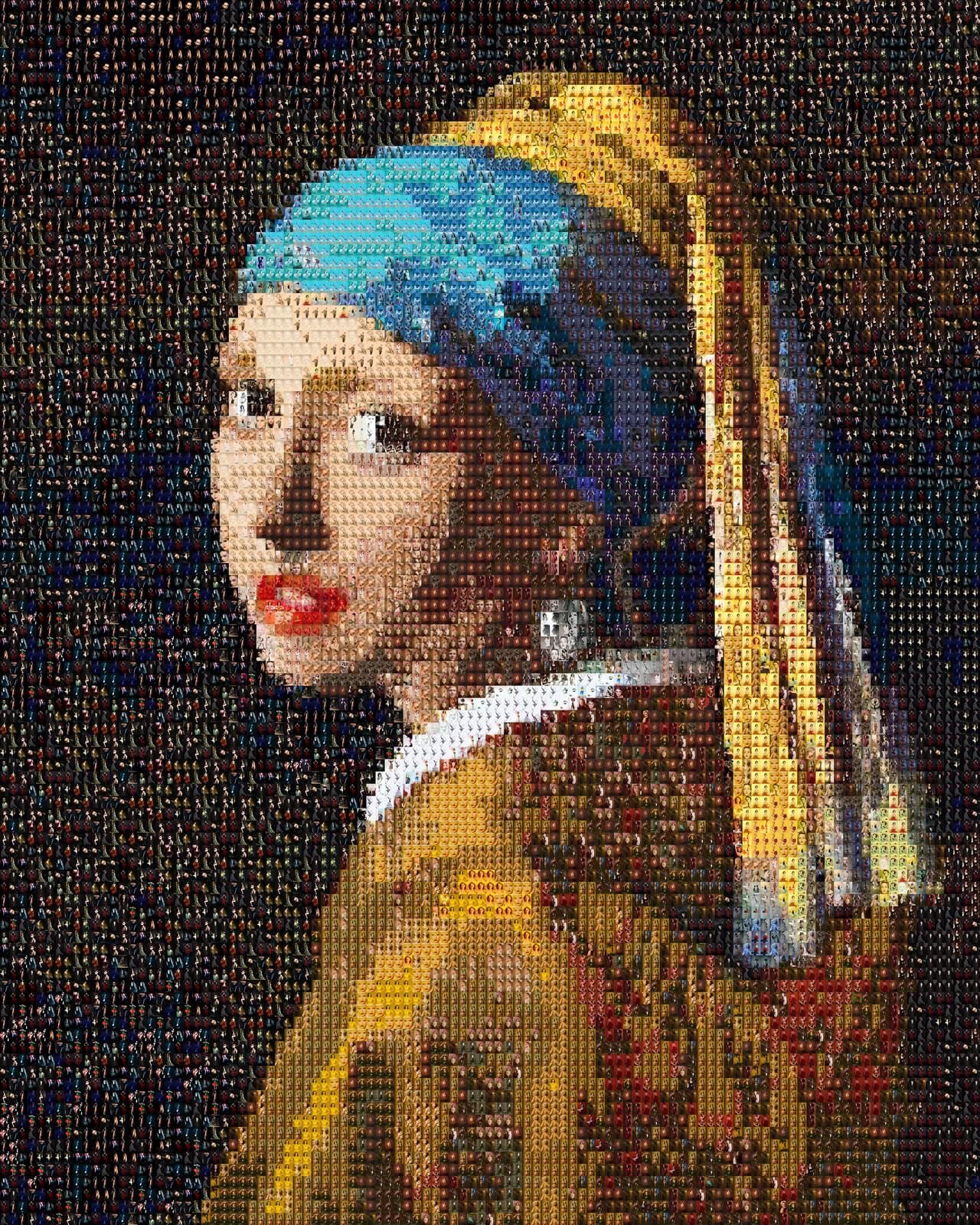 Das Mädchen mit dem Perlenohrring - Anna Halm Schudel