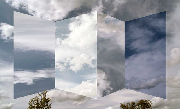 Polyptych of clouds - Antonio Rojas