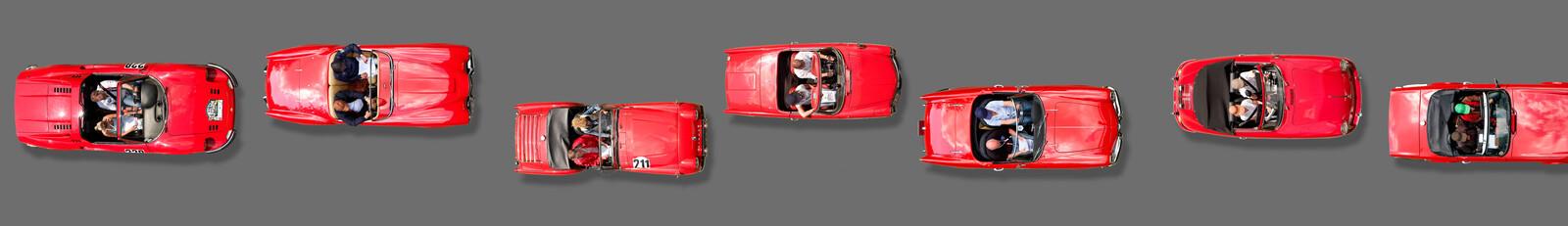 red car - Bernhard Schmerl