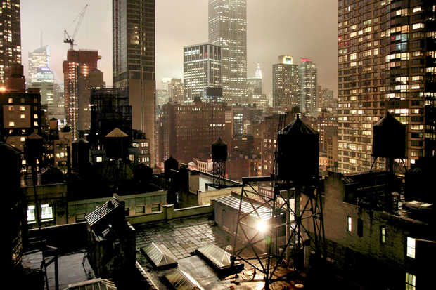 Night light - Christophe Jacrot