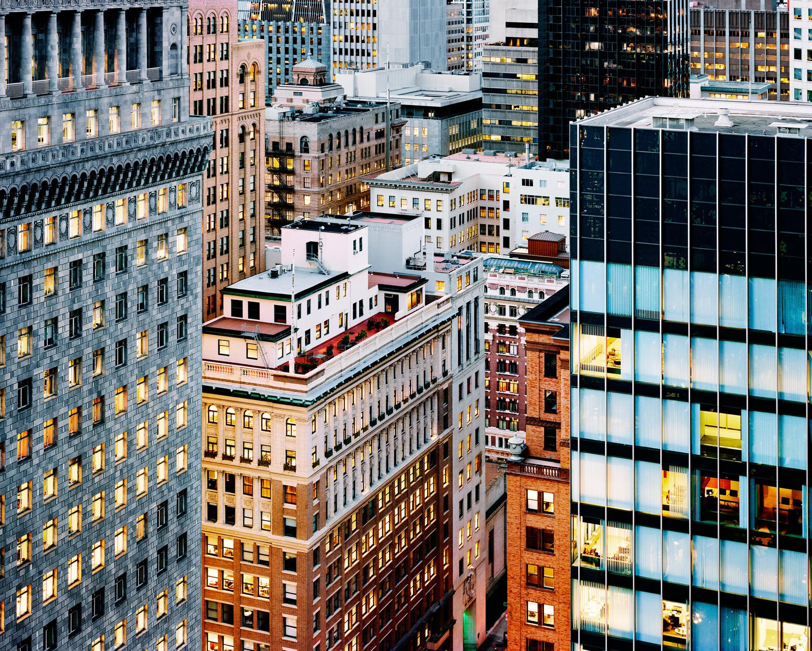 Sutter Street & Sansome Street, San Francisco - Christopher Woodcock