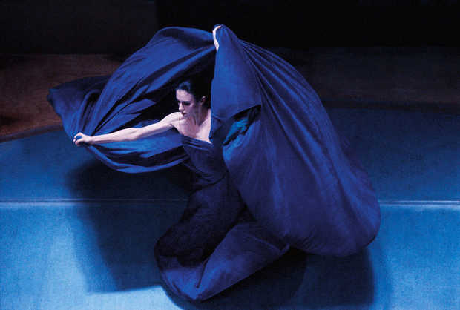 Blaues Tuch, Stuttgarter Ballett - Dieter Blum