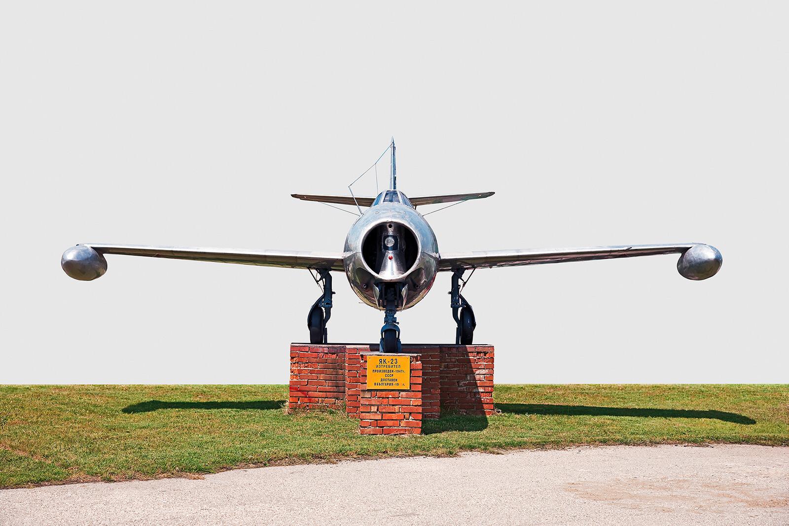 Jak-23 (Flora) Vorderansicht - Dirk Brömmel
