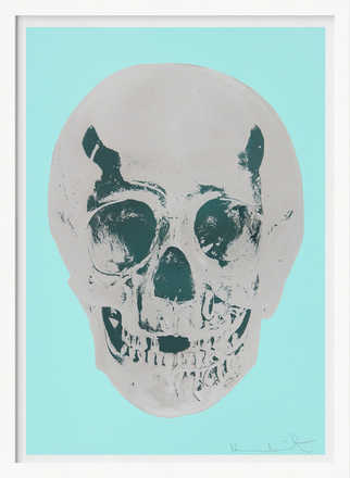 Till Death Do Us Part - Heavenly - Peppermint Green Silver Gloss Racing Green - Damien Hirst
