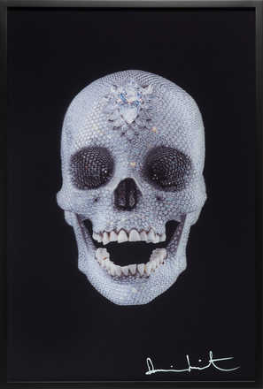 For the Love of God - Lenticular - Damien Hirst