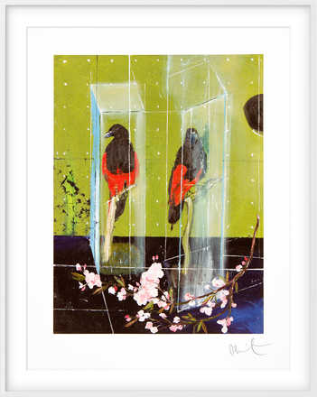 Two Parrots - Damien Hirst
