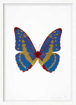 The Souls III - Frost Blue Oriental Gold Chilli Red - Damien Hirst