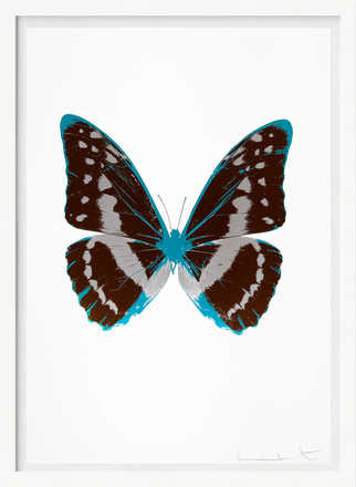 The Souls III - Chocolate Silver Gloss Topaz - Damien Hirst