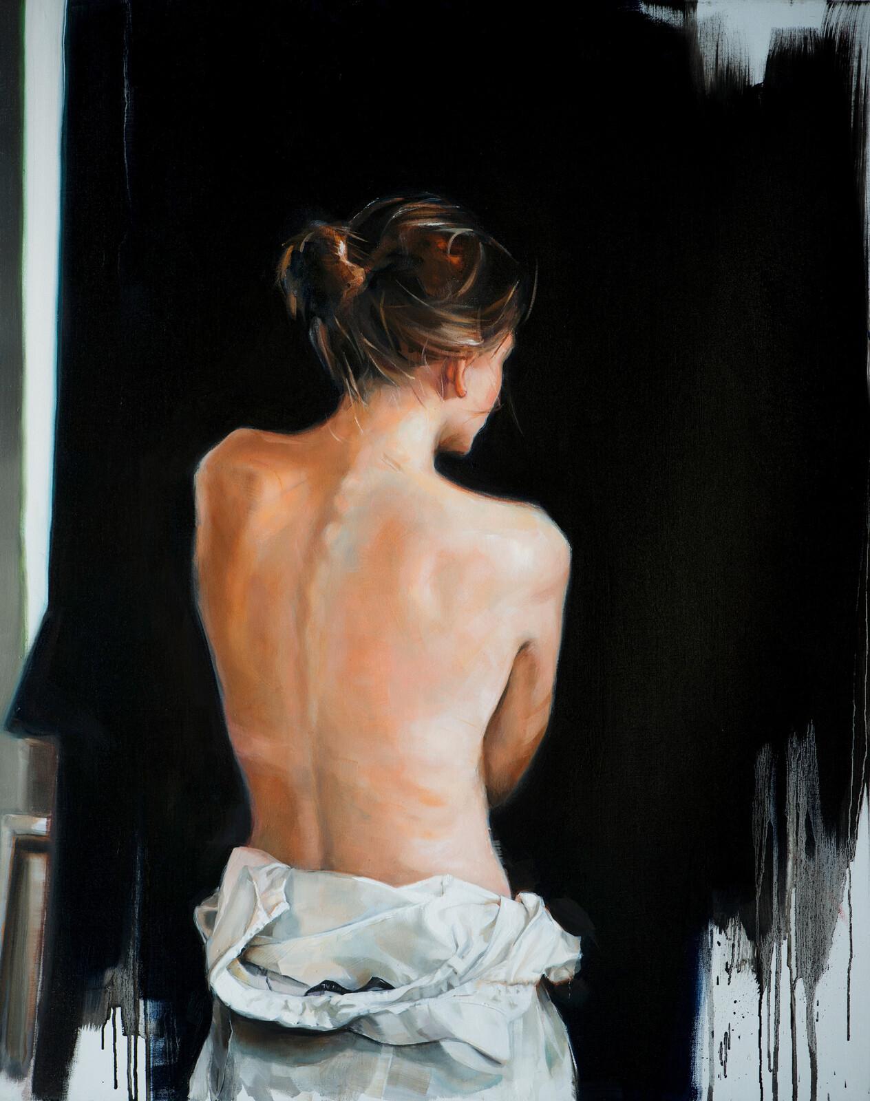 Le dos d'une femme - Edward B. Gordon