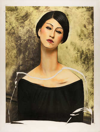 Women VI (after Modigliani) - Efren Isaza