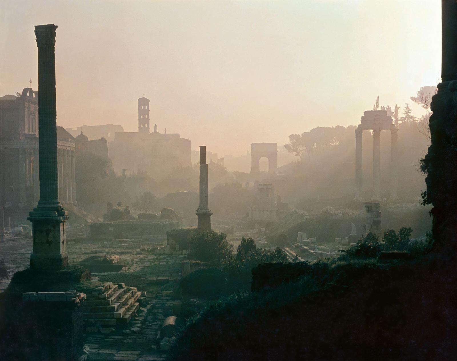 Forum Romanum, Rom - Erich Lessing