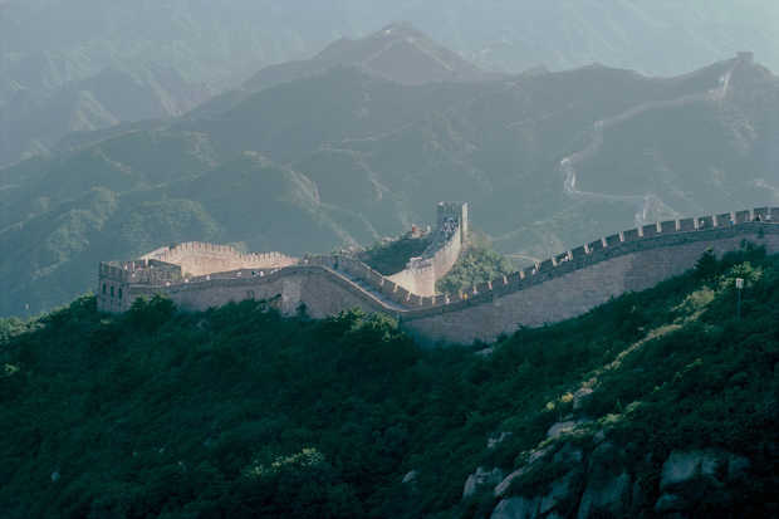 Chinesische Mauer - Erich Lessing