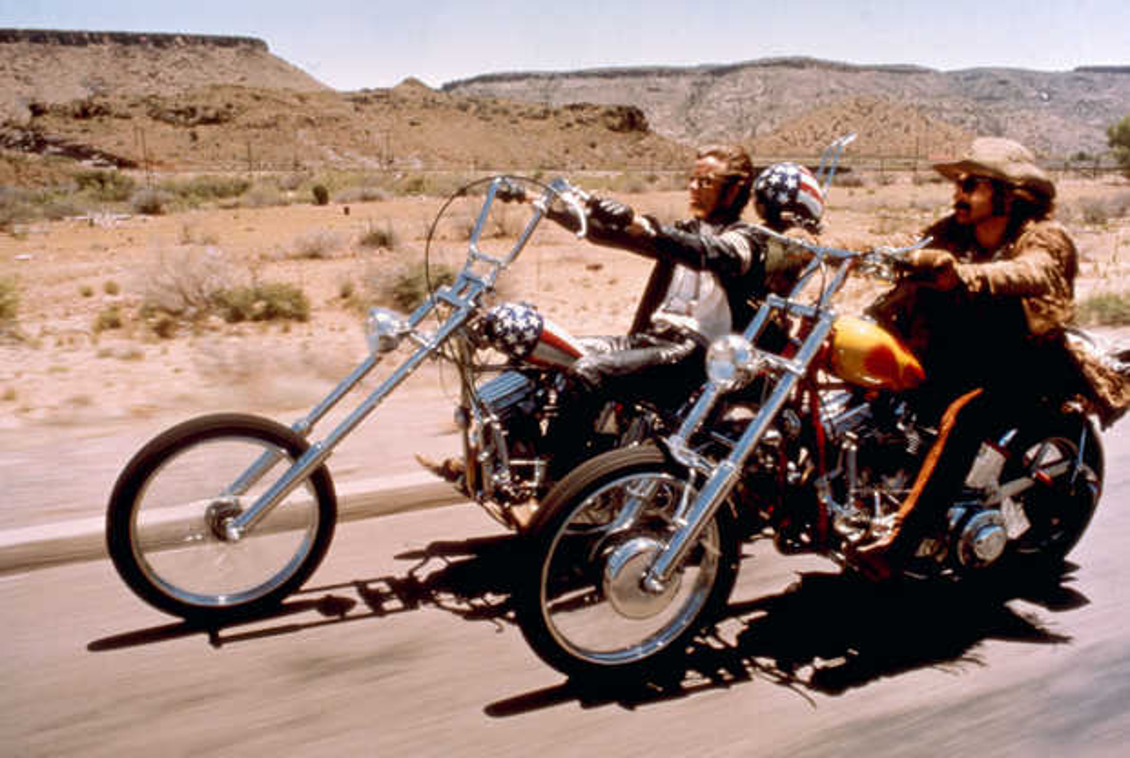 Wyatt (Peter Fonda) und Billy (Dennis Hopper) - Dennis Hopper