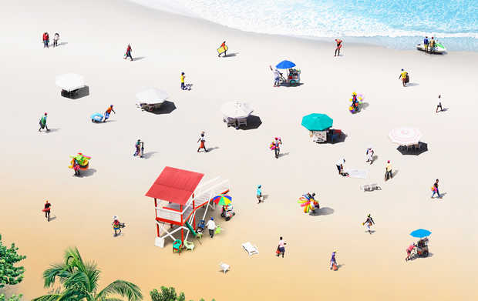 Beach - Felipe Bedoya