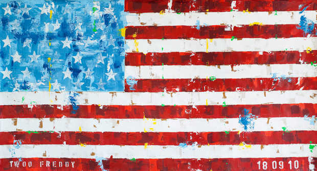 US Flag - Freddy Reitz