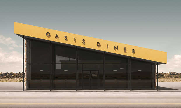 Oasis Diner - Geebird & Bamby