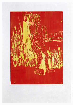 Remix, Rute (Version Rot/Gelb) - Georg Baselitz