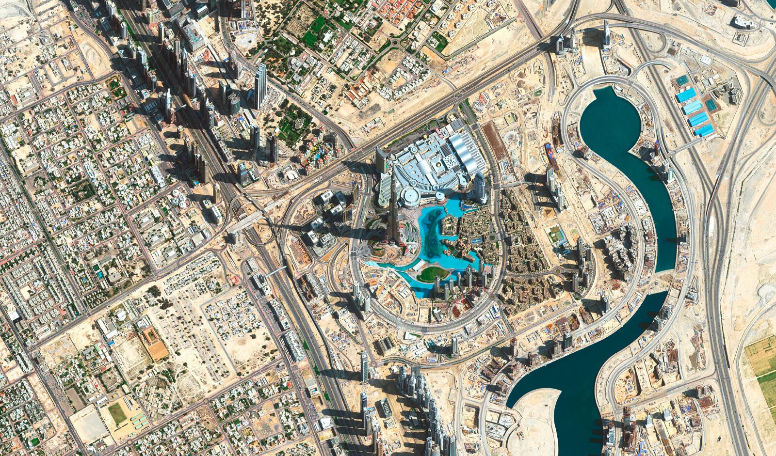 burj al khalifa human footprint bilder fotografie