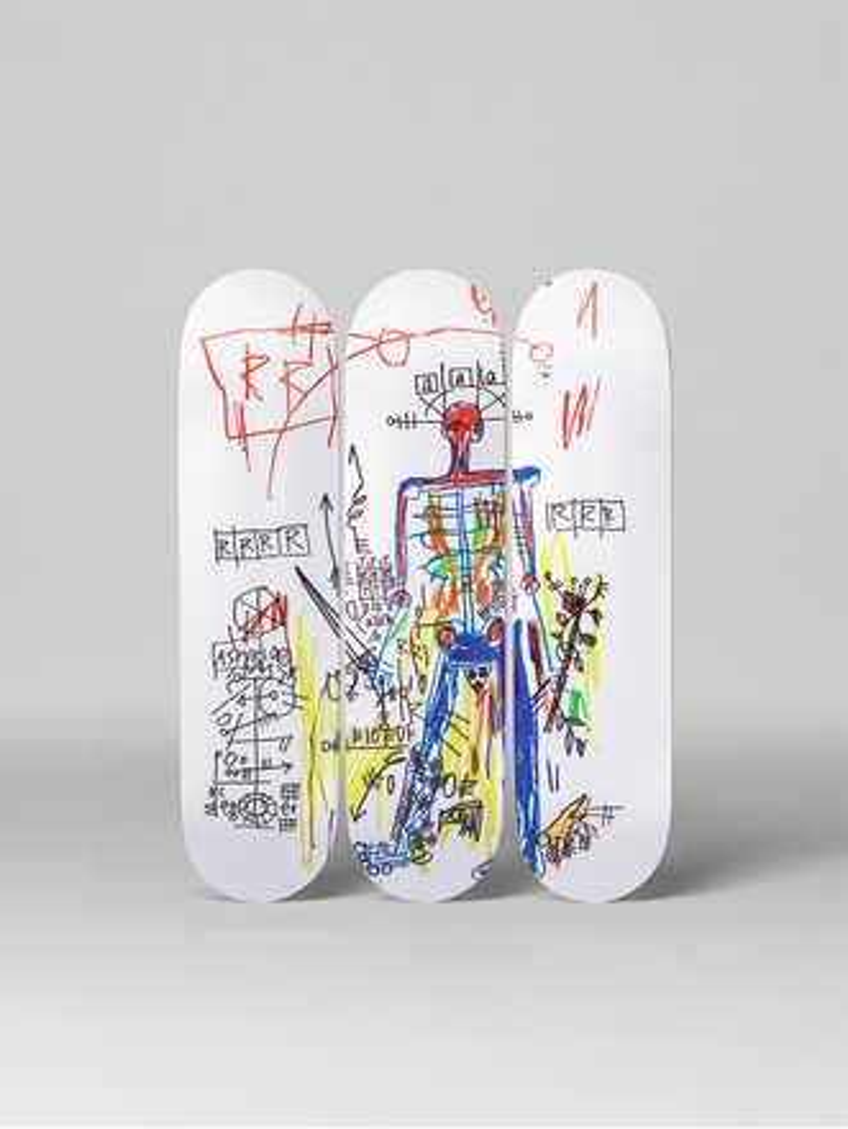 Robot - Jean - Michel Basquiat