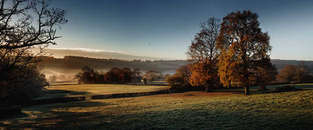 Glebe House Estate, Morning View - Justin Barton