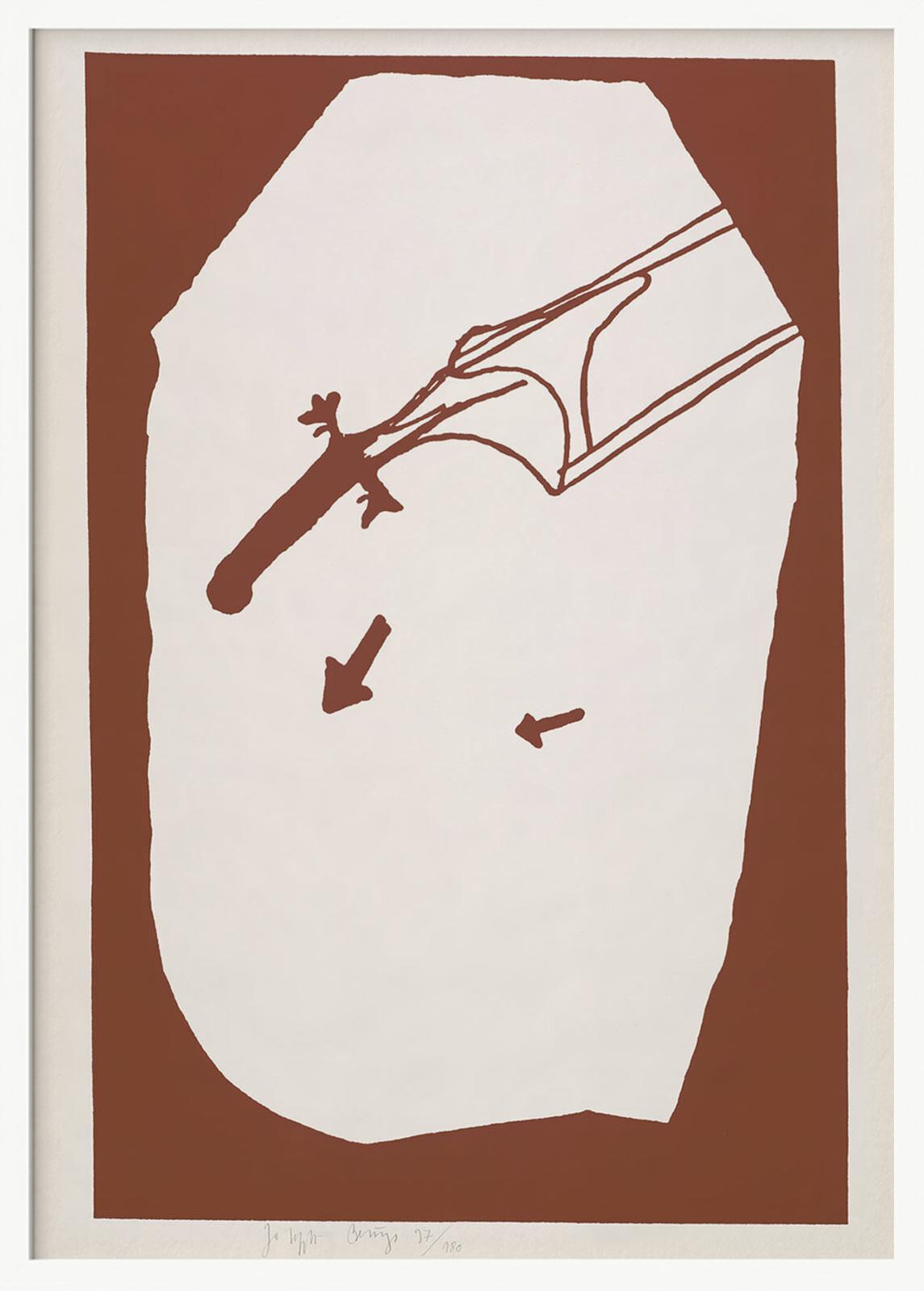 Elch in der Strömung - Joseph Beuys