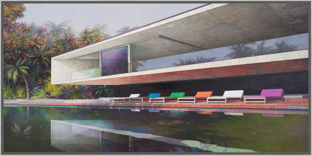 Modern house with pool - Jens Hausmann