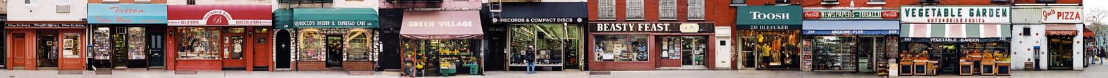 Bleecker St. b/t Leroy & Carmine, Greenwich Village - James & Karla Murray